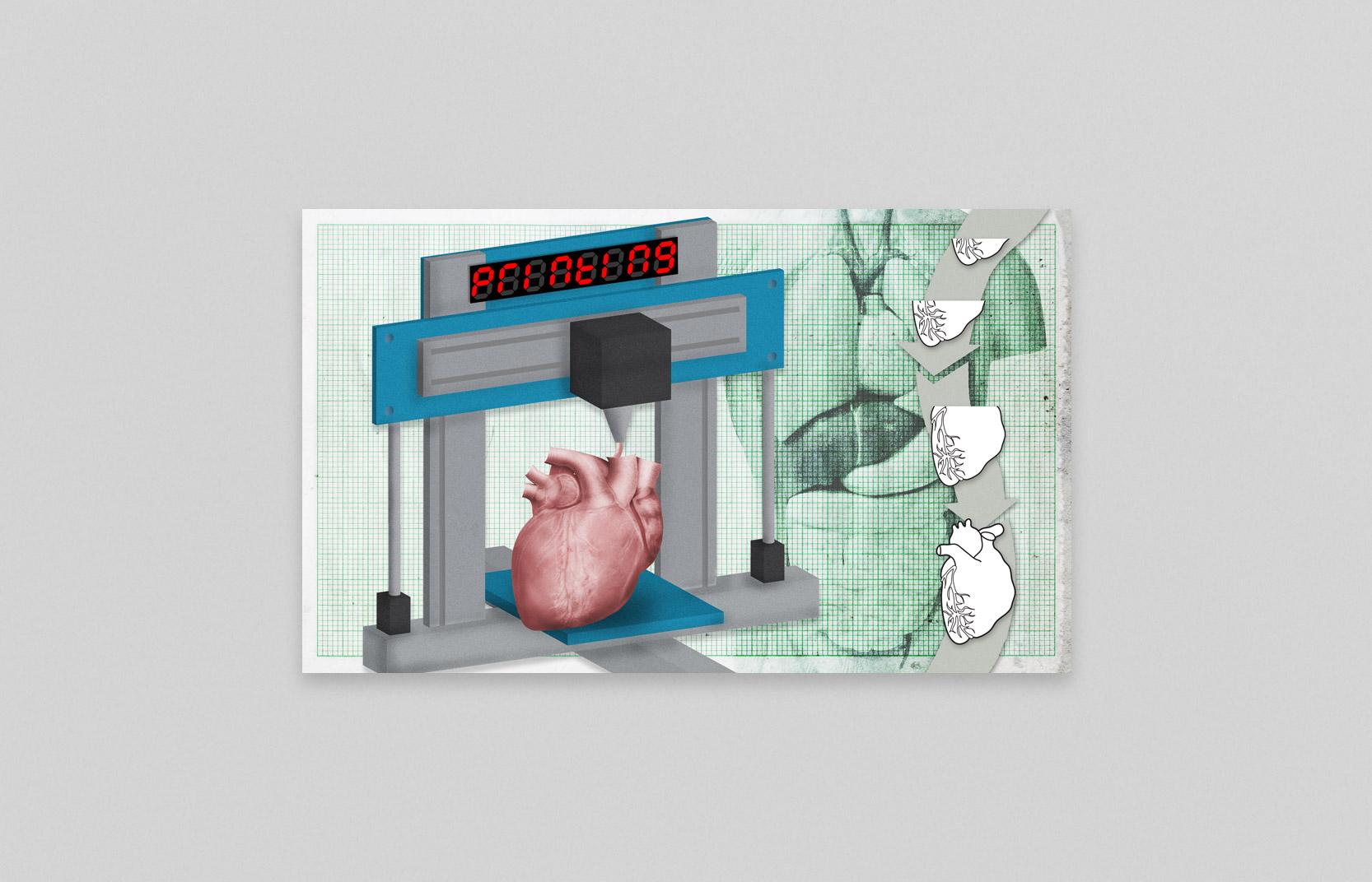 HD versie van illustratie voor Nederlandse transplantatie stichting door Moederschip 2014